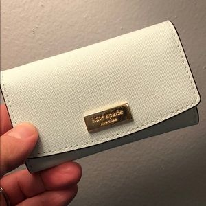 Kate Spade NWOT Powder Blue Mini-Wallet